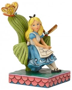 Disney - Traditions - Alice in Wonderland Curiouser and Curiouser