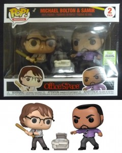Office Space - Pop! - 2-Pack Michael Bolton & Samir ECCC 2019