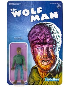 Universal Monsters - Reaction Figure - The Wolf Man 10 cm