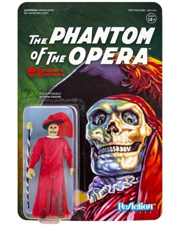 Universal Monsters - Reaction Figure - The Masque of the Red Death (Phantom of the Opera)