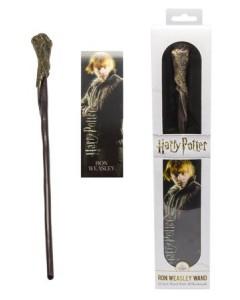 Harry Potter - Baguette plastique + marque-page Ron Weasley