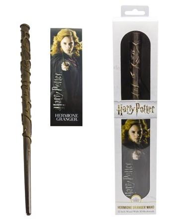 Harry Potter - Baguette plastique + marque-page Hermione Granger