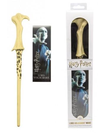 Harry Potter - Baguette plastique + marque-page Lord Voldemort