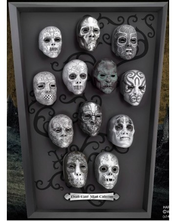 Harry Potter - Collection des masques des Mangemorts