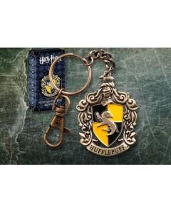 Harry Potter - Porte-clé métal Hufflepuff Crest