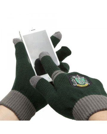 Harry Potter - gants tactiles Serpentard
