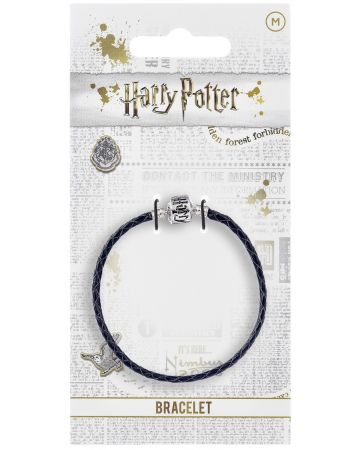 Harry Potter - Bracelet cuir noir