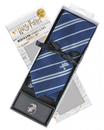 Harry Potter - cravate + pins Ravenclaw