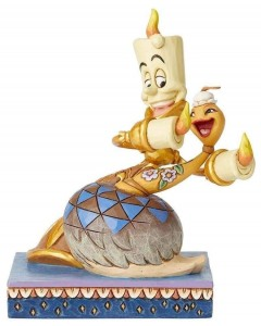 "Disney - Traditions - Lumiere & Plumette ""Romance By Candlelight"""