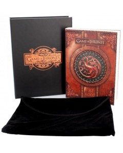 Game of Thrones - Cahier journal Fire & Blood (Targaryen) 18,5 x 13 cm