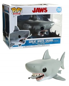 Jaws - Pop! - Great White Shark with Diving Tank (15 cm de long)