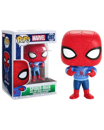 Marvel - Pop! - Holiday Spider-Man (Ugly Sweater)