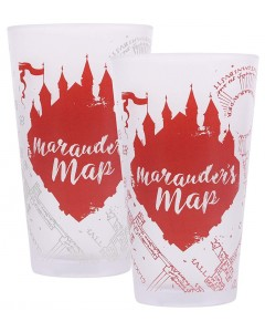 Harry Potter - Mug thermo-reactif froid Maradeur's Map