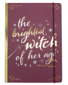 Harry Potter - Carnet A5 Hermione, The Brightest Witch of Her Age