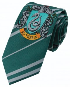 Harry Potter - cravate enfant Slytherin