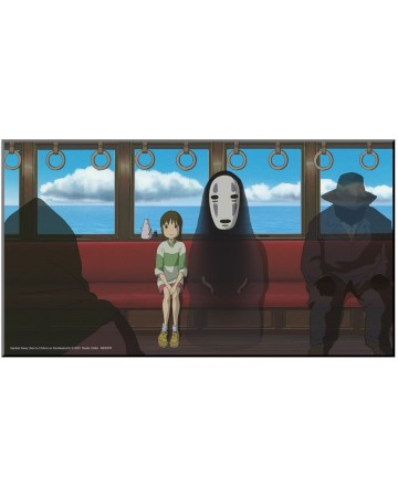 Spirited Away (Chihiro) - poster en bois laminé 37,5 x 20,5 cm