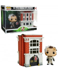 Ghostbusters - Pop! - Peter Venkman with Firehouse