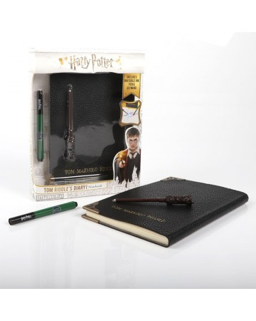 Harry Potter - Journal Tom Riddle & Baguette Stylo Invisible