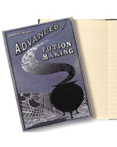 Harry Potter - Carnet journal Advanced Potion-Making - Edition II