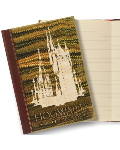 Harry Potter - Carnet journal Hogwarts: A History