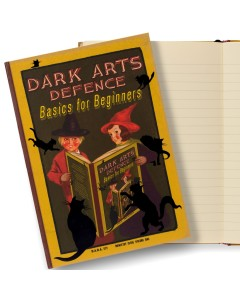 Harry Potter - Carnet journal Dark Arts Defence: Basics for Beginners