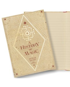 Harry Potter - Carnet journal A History of Magic