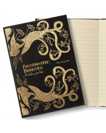 Harry Potter - Carnet journal Fantastic Beasts and Where to Find Them