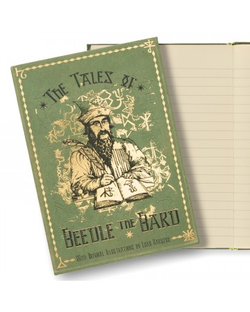 Harry Potter - Carnet journal The Tales of Beedle the Bard
