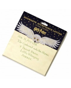 Harry Potter - Pack 12 stickers réutilisables Acceptance Letter