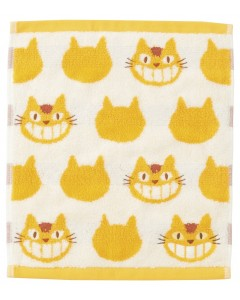 Mon voisin Totoro - Serviette Chatbus 25 x 25 cm