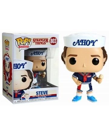 Stranger Things - Pop! - Steve with Hat and Ice Cream