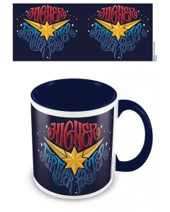 Marvel - Mug Captain Marvel Higher Further Faster