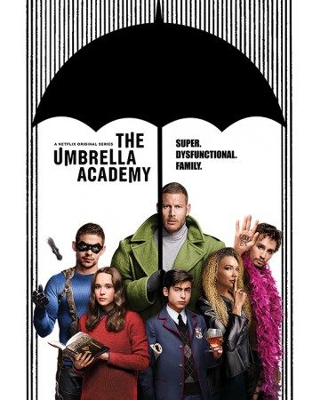 The Umbrella Academy - grand poster Super Dysfunctional Family (61 x 91,5 cm)