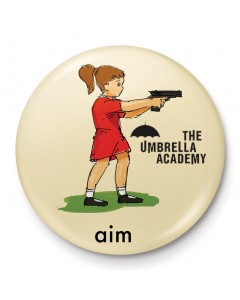 The Umbrella Academy - Badge Aim