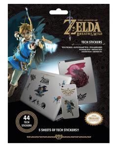 Zelda - Set de 44 tech stickers