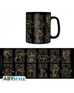 Saint Seiya - Mug Armures d'Or 460 ml
