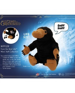 Fantastic Beasts - Peluche sonore Niffler 22 cm