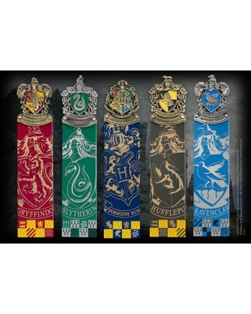 Harry Potter - Set de 5 marque-pages