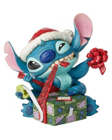 "Disney - Traditions - Santa Stitch ""Bad Wrap"""