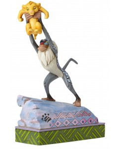 "Disney - Traditions - Rafiki and Baby Simba ""Heir to the Throne"""