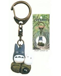 Mon Voisin Totoro - Porte-clé Totoro Bleu & Totoro blanc