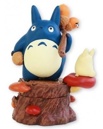 Mon voisin Totoro - Petite boîte Totoro bleu et Totoro blanc