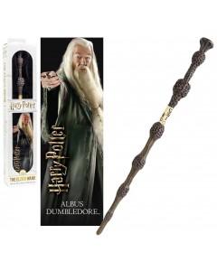 Harry Potter - Baguette plastique + marque-page Albus Dumbledore