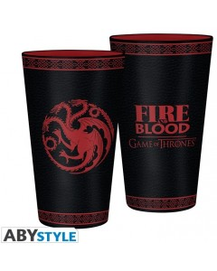 Game of Thrones - Verre 500 ml Targaryen