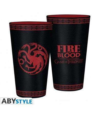 Game of Thrones - Verre 500 ml Targaryen