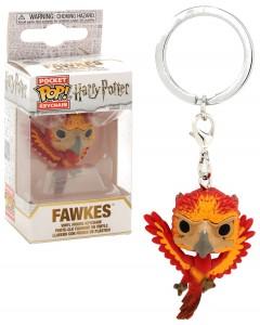 Harry Potter - Pop! Pocket - porte-clé Fawkes