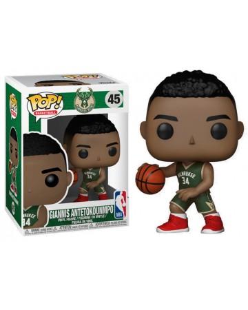 NBA - Pop! Basketball - Bucks Uniform Giannis Antetokounmpo n°45