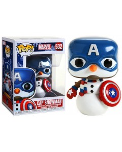 Marvel - Pop! - Holiday Captain America n°