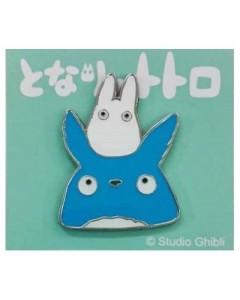 Mon Voisin Totoro - Pins Totoro bleu et blanc