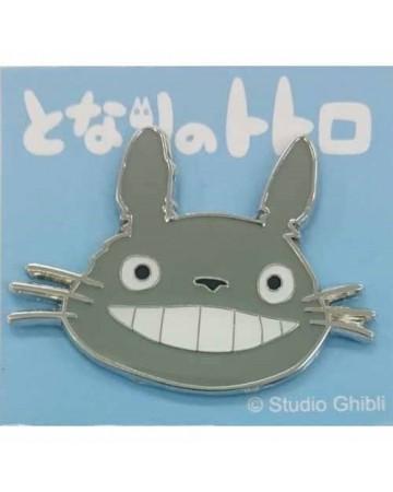 Mon Voisin Totoro - Pins Totoro gris gros plan